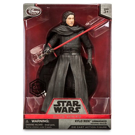 Star Wars 6 Elite Series Die-Cast Figure Kylo Ren Unmasked (Episode VII: A Force Awakens) by Disney