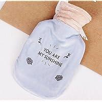 Preisvergleich für exoh Mix Farbe Hot Wasser Flaschen mit weichem Plüsch-Bezug Winter Plüsch Handwärmer (zufällige Farbe)