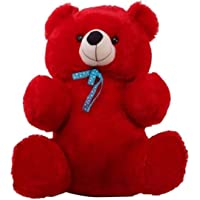 Jesper Orignal Teddy Bear Animals for Kids - 2 Feet (61 cm, Red)