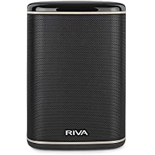RIVA ARENA Black - Altavoz Multiroom Wi-Fi, Bluetooth, Chromecast, Airplay, Google Home DNLA 50W Negro