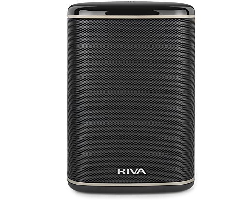 RIVA Arena Black - Altavoz Multiroom Wi-Fi, Bluetooth, Chromecast, Airplay, Google Home DNLA 50W Negro