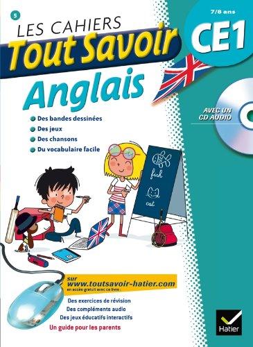 Les cahiers Tout Savoir Anglais CE1