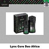 Lynx Africa Core Duo Geschenkset, Körperspray und Duschgel