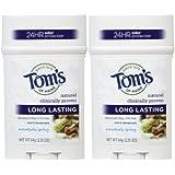 Tom's Of Maine Long Lasting Mens PGF Stick Deodorant, Mountain Spring - 2.25 Oz - 2 Pk