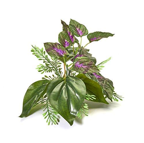 Pistachio Pet Schöne Realistische Aquarium Pflanze mit Sockel 15,2cm/15cm hoch - Realistische Aquarium Pflanzen
