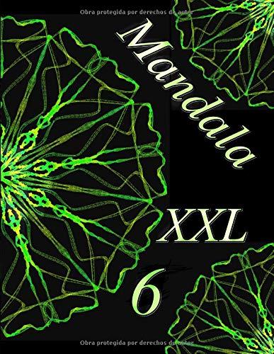 Mandala XXL 6: libro para colorear para adultos