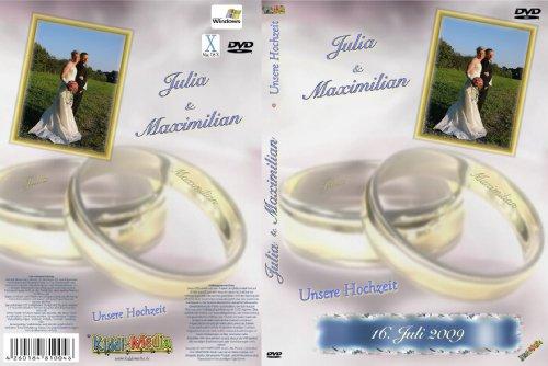 Personalisiertes HOCHZEITSALBUM als Film - Ihr Hochzeit Fotoalbum auf DVD / ein traumhaftes Fotobuch mit Ihren schönsten 40 Hochzeitsbilder / Auch ideal als Danksagung