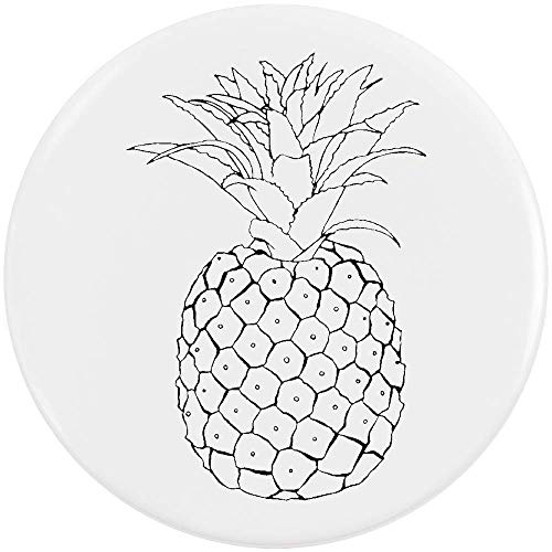 58mm 'Ananas' Pin Knopf-Abzeichen (BB00055427)
