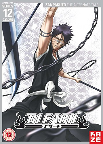 Bleach Complete Series 12 - Zanpakuto: The Alternate Tale (Episodes 230-265) [DVD] [UK Import] (Bleach-complete Box Set)