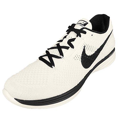 Nike Uomo Flyknit Lunar3 scarpe da corsa Blu/nero (Sail/Black)
