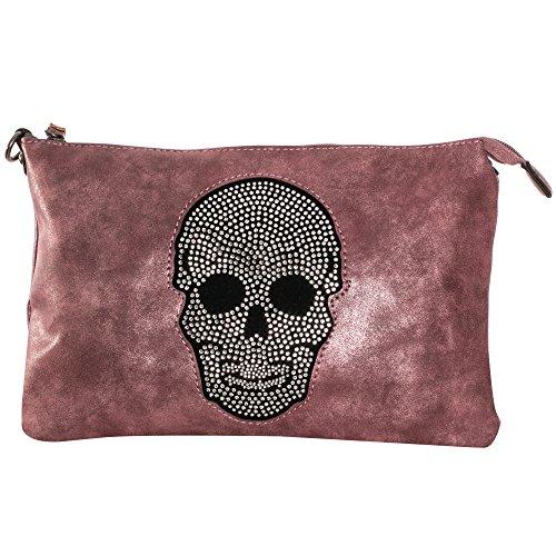 Gadzo, Borsa a tracolla donna rosa perla
