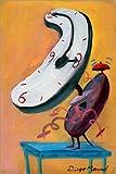 POSTERLOUNGE Poster 80 x 120 cm: Alarm clock 9 de Diego Manuel Rodriguez - reproduction haut de gamme, nouveau poster
