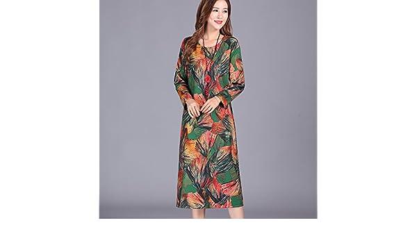 large Spring frauen Kleid Alter Mittlerem Esprit Wear Von Meizizi OTwuXZiPk