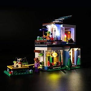 BRIKSMAX Kit di Illuminazione a LED per Lego Creator Casa Moderna modulabile,Compatibile con Il Modello Lego 31068… 0716852282289 LEGO