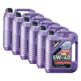 Liqui Moly 6X 1307 Synthoil High Tech 5W-40 Motoröl Vollsynthetisch 5L