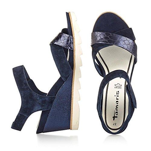 Tamaris Damen Sandalette Navy