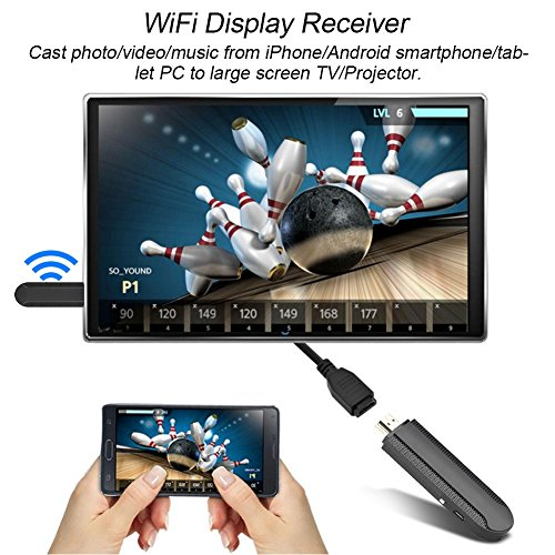 Richer-R C 2 4Ghz   5Ghz Dual-frequency HDMI Dongle TV Projector Display WiFi Receiver for DLNA Airplay Micracast Interactive