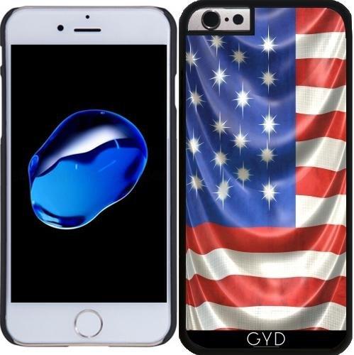 Coque pour Iphone SE - Drapeau Américain Drapé by Blooming Vine Design Plastique Rigide