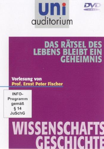 Das Rätsel des Lebens bleibt ein Geheimnis (Reihe: uni auditorium) Fachbereich: Wissenschaftsgeschichte (1 DVD, Länge: ca. 57Min.)