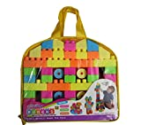 #3: Multicolor Building Blocks Toy for Kids (Age 2+) Best Gift Toy with a Packing Bag (Set of 100Pcs)