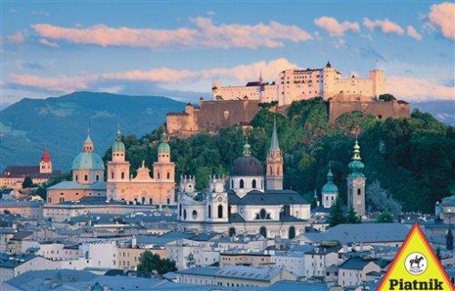 Preisvergleich Produktbild Piatnik  5645 - Puzzle Salzburg 1000 Teile