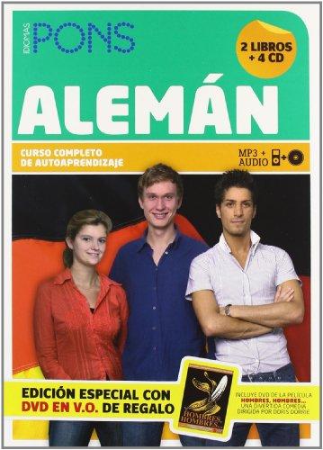 Curso Completo Pons Alemán. 2 libros + 4 CD + DVD + tutoría (Pons- Curso Autoaprendizaje)