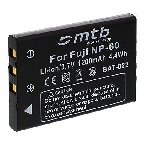 Batterie NP-60 pour FujiFilm Finepix 50i, F401, F410, F601, (Memoria Dx6490 Kodak)