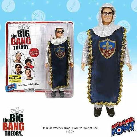 Bif Bang Pow The Big Bang Theory Leonard Caballero 8-Inch Figura -Con. Excelente