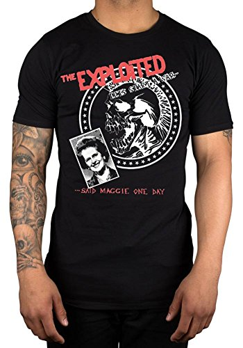 Official The Exploited Let's Start War T-Shirt