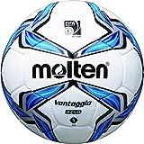 Molten Fußball F5V3750 Weiß/Blau/Silber 5
