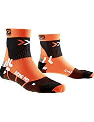 X-Socks, Calzini sportivi Unisex adulto Biking Pro, Arancione (Orange/Black), 39/41