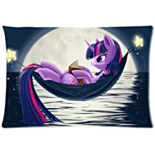My Little Pony Sailor Moon Custom Design Personalized Pillowcase Pillow Sham Pillow Cushion Case Cover Two Sides Printed 20x26 Inches