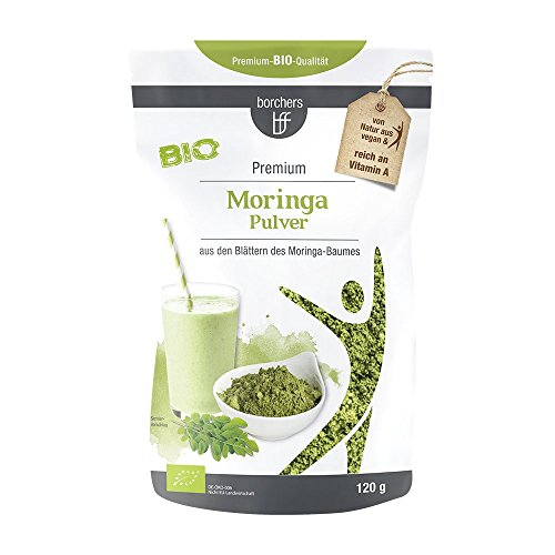 borchers Bio Moringa-Pulver - Rohkostqualität | 120 g