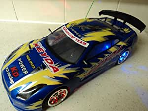 Nissan Skyline Style Keyda Dragon Radio Remote Control Car Rechargeable 1/10 Scale 20 MPH