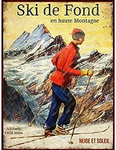 Anticline Platte Langlaufski im Hochgebirge 25* 33cm