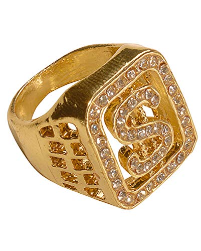 Horror-Shop Dollar Ring Gold