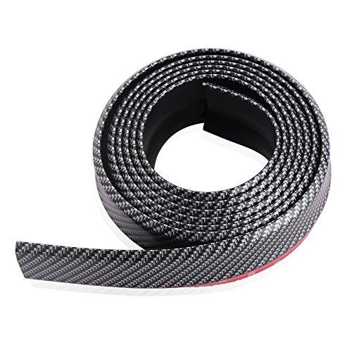 Preisvergleich Produktbild 9 MOON Carbonfaser Klebeband für Stoßfänger vorne, Spoilerlippe, Dachspoiler, Body Kit Clip-Aufkleber, einfache Montage, 100 % wasserdicht