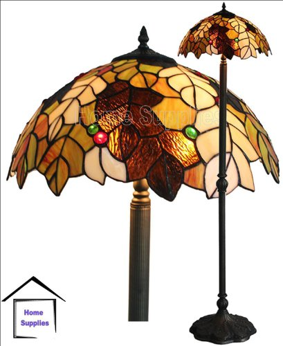 Harvest Tiffany Style Floor Lamp