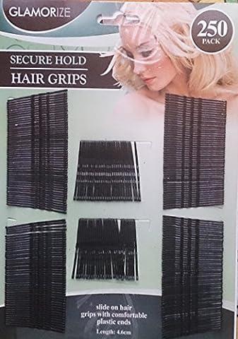 500sicheren Halt Haarklammern/Bobby Pins 2PK