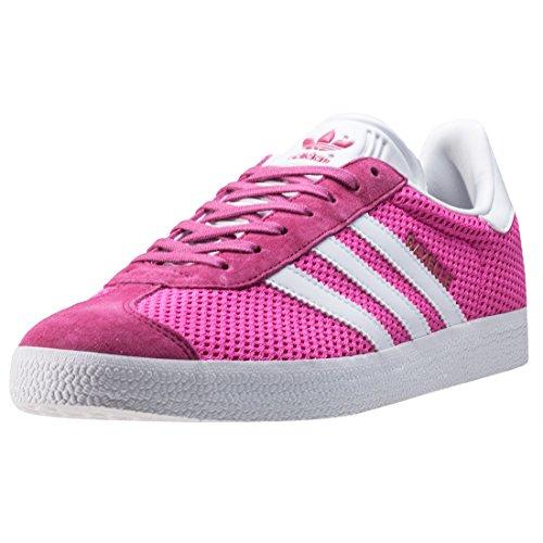 adidas Gazelle, Scarpe da Ginnastica Basse Uomo Pink White