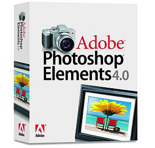 Adobe Photoshop Elements 4.0 - complet (1 poste)