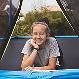 Ultrasport Kinder Gartentrampolin Uni-Jump 183 cm  inkl. Sicherheitsnetz – Blau - 7