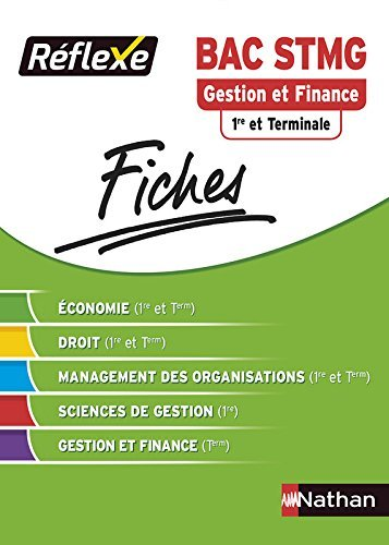 Fiches Rflexe - Gestion et Finance 1re et Terminale STMG by Karine Charlier (2014-08-12)