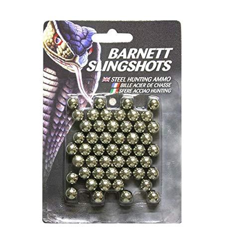 Barnett Crossbows 16087, 38 Palle di Calibro Unisex - Adulto, Colore  Argento, Taglia Unica