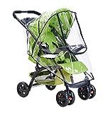 Universal Baby Kinderwagen Regenschutz, Buggy Aufbewahrungstasche, wasserdicht, Regenschirm, Wind- und Staubschutz, Abdeckung, Organizer