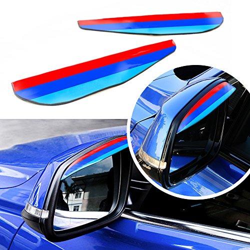 Tuqaing 3colori m styling specchietto retrovisore pioggia sopracciglio Motorsport strisce antipioggia copertura decorazione adesivi per F20F212PCS