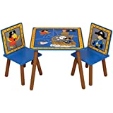Kidsaw pirata mesa y sillas