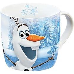 Taza de porcelana Disney de Olaf, multicolor, 11,5x 8x 8cm