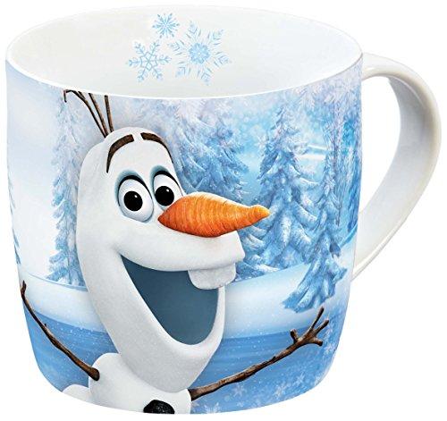 Disney 12755 Olaf Porzellantasse, mehrfarbig, 11,5 x 8 x 8 (Olaf Disney Frozen)