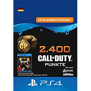 2.400 Call of Duty : Black Ops 4-Punkte – 2400 Points DLC | PS4/PS3 Download Code – deutsches Konto